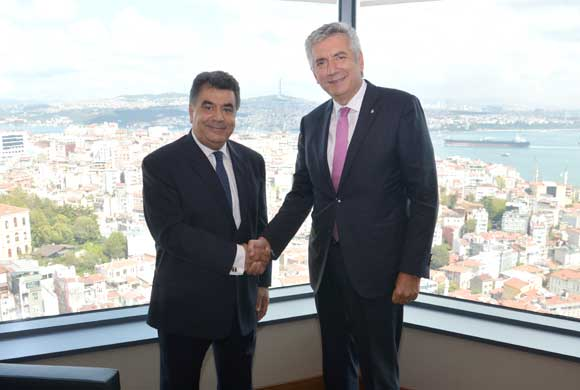 Dışişleri Bakanlığı İstanbul Temsilcisi İpek İSO Başkanı'na Veda Ziyaretinde Bulundu