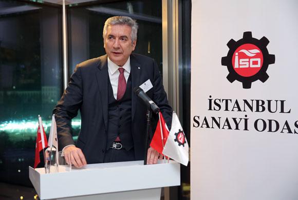 İSO Yönetimi ve Meclis Üyeleri İstanbul'daki Konsoloslarla Buluştu