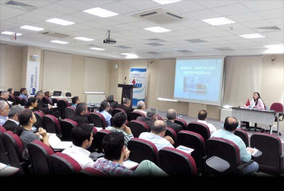 İSO, İstanbul Anadolu Yakası OSB'de Destek İçin Bilgilendirme Toplantısı Yaptı