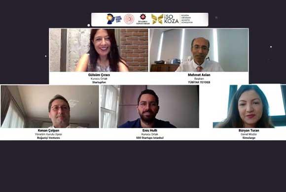 İSO KOZA Girişimcilik Zirvesi'nde Sanayiciler ve Girişimciler Deneyimlerini Paylaştı