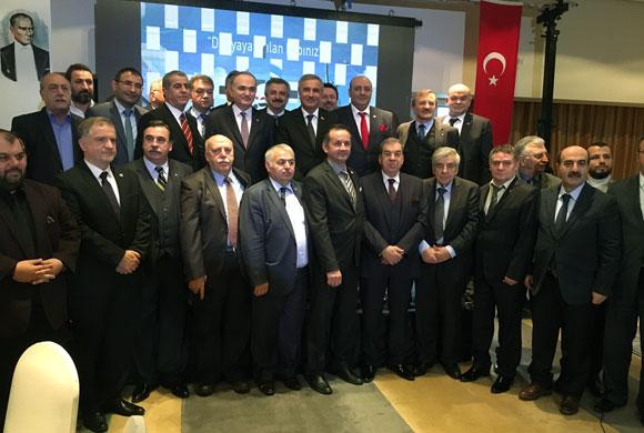 KSİAD'lı Sanayicilerle Bakan Özlü'yü Buluşturan Toplantıya İSO Başkanı Bahçıvan da Katıldı