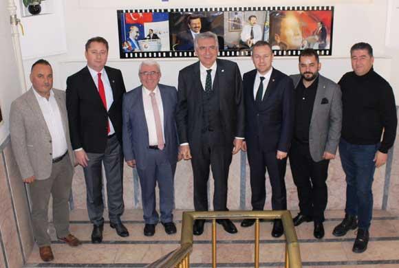 İSO Başkanı Bahçıvan, Kırklareli TSO ve Kırklareli Ticaret Borsası'nı Ziyaret Etti