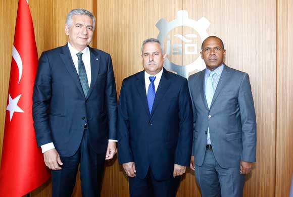 Eloy Alvarez Martinez, Republic of Cuba Deputy Minister of Industry Visited ICI