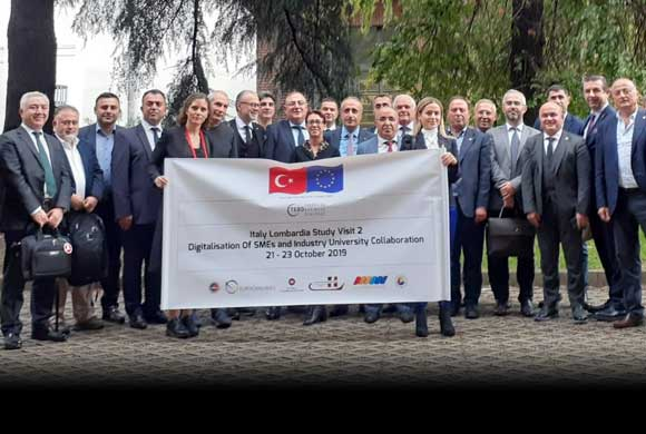 ICI Board Realized Business Visit to Lombardia Region of Italy