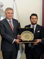 Lonca İstanbul'dan Genç İş Adamları İSO Başkanı Bahçıvan'ı Ziyaret Etti