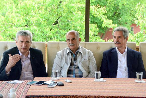 """Malatya'da Basınla Buluşan Bahçıvan: """"Girişimci Torunların, Dedelerinin Memleketlerine Dönme Zamanı Geldi"""""""
