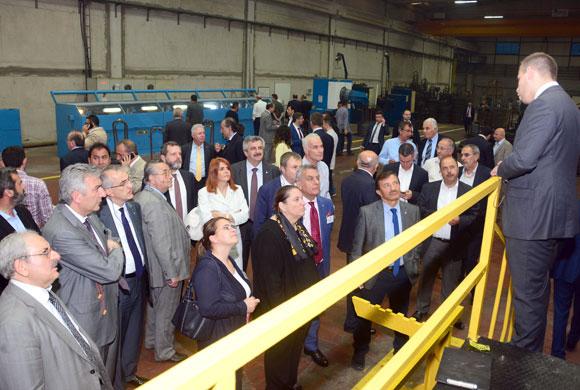 İSO Meclis Üyeleri Malatya'daki OSB'lerde Yatırım İmkanlarını Gezerek İnceledi