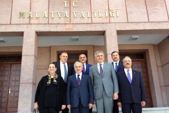 İstanbul Sanayi Odası'nın Malatya Gezisi, Vali ve Belediye Başkanı Ziyaretleriyle Başladı