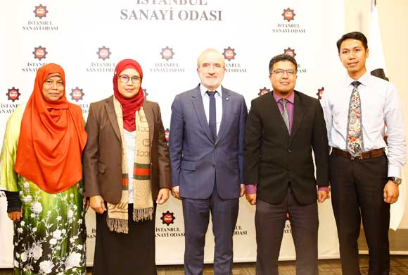 Board Consisting of Malaysian Business People Visited Istanbul Chamber of Industry