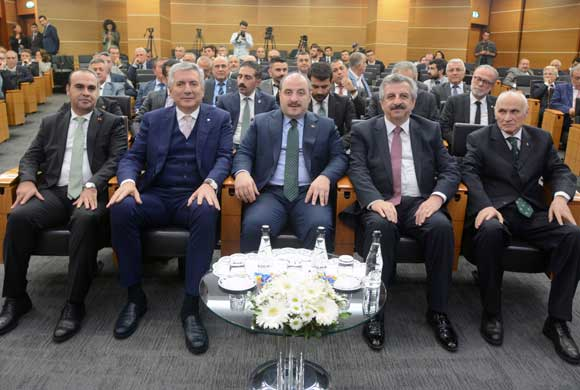 ICI Hosted The Minister of Industry and Technology Mustafa Varank in the October Assembly