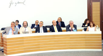 Bahçıvan Speaks at Board:
