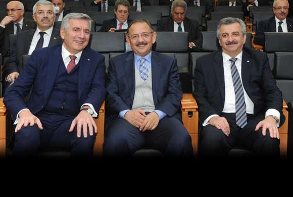İSO'nun Aralık Meclisi'nde Çevre ve Şehircilik Bakanı Özhaseki Konuk Oldu