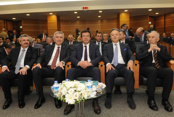 Production Economy Discussed at Assembly Meeting Attended by Minister Zeybekci