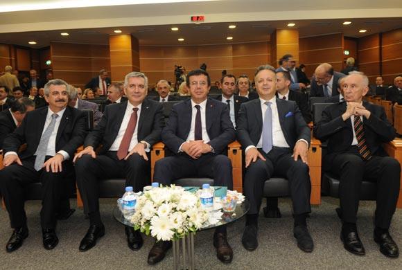 Bakan Zeybekci'nin Konuk Olduğu Meclis Toplantısında Üretim Ekonomisi Konuşuldu