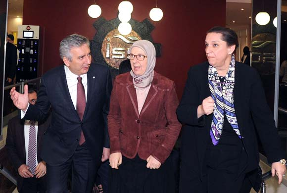 ICI Assembly Hosts Minister of Family and Social Policies Sema Ramazanoğlu in March's Meeting