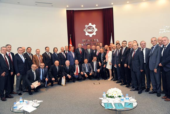 April Assembly Meeting Hosts Bülent Tüfenkci, Minister of Customs and Trade
