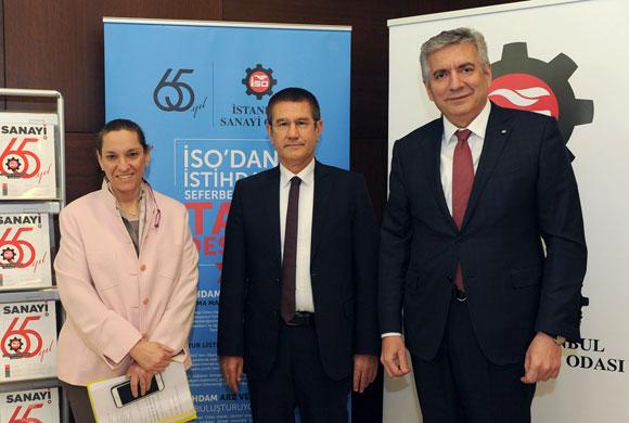 Başbakan Yardımcısı Nurettin Canikli, İSO Nisan Ayı Meclisi'ne Konuk Oldu