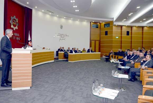"""İSO Yönetim Kurulu Başkanı Erdal Bahçıvan: """"Bilişim Temelli Yeni Ekonomiye Kayıtsız Kalamayız"""""""