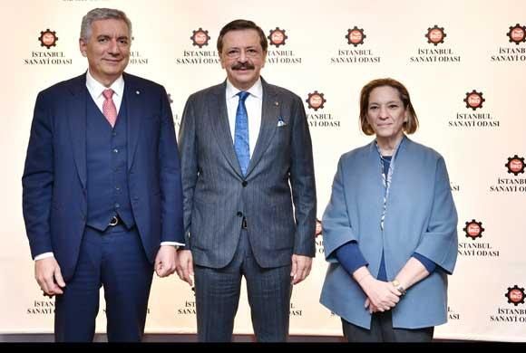 İSO Ocak Meclisi'ne TOBB Başkanı M. Rifat Hisarcıklıoğlu Konuk Oldu