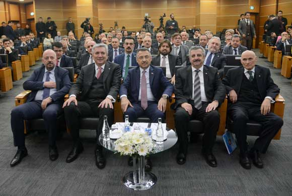 Fuat Oktay, the Deputy President Became the Visitor of ICI February Assembly