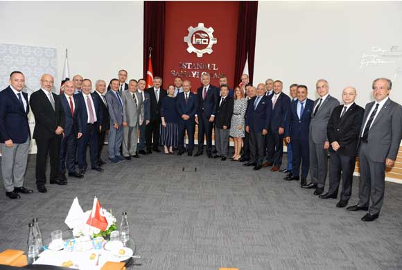ICI Assembly Hosted Cahit Turhan, Minister of Transport and Infrastructure