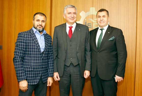 MESİAD Başkanı Yusuf Gecü'den, İSO Başkanı Erdal Bahçıvan'a Nezaket Ziyareti