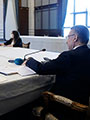 Covid-19'un Ekonomiye ve Sanayimize Etkilerinin Konuşulduğu İSO-MESKOM İstişare Toplantısı Cumhurbaşkanı Yardımcısı Fuat Oktay'ın Katılımıyla Yapıldı