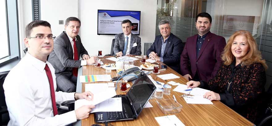 1. Grup Meslek Komitesi İlk Toplantısını Gerçekleştirdi