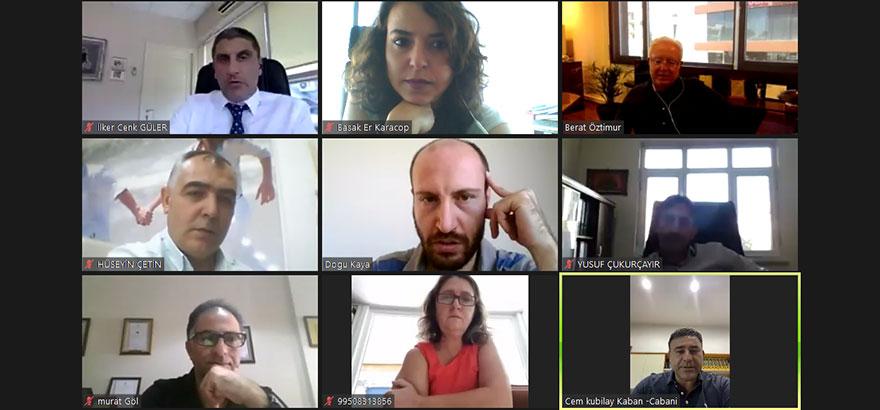 22 ve 32. Grup Meslek Komitesi Eylül Ayı Toplantılarını Ortak Gerçekleştirdi