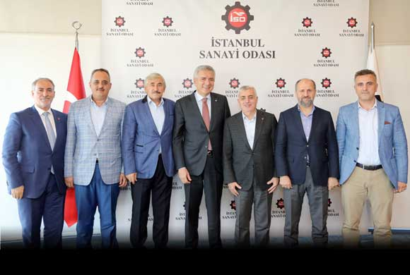 İSO Başkanı Bahçıvan, Mimar ve Mühendisler Grubu Yönetimiyle Bir Araya Geldi