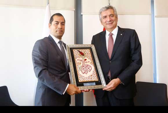 MISAD Yönetim Kurulu Üyeleri İSO Başkanı Bahçıvan'ı Ziyaret Etti