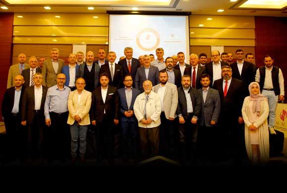 İSO Başkanı Bahçıvan, Mimar ve Mühendisler Grubu'nun Çalışma Toplantısının Konuğu Oldu