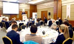 İSO Başkanı Bahçıvan, Mimar ve Mühendisler Grubu'nun Çalışma Toplantısının Konuğu Oldu 02