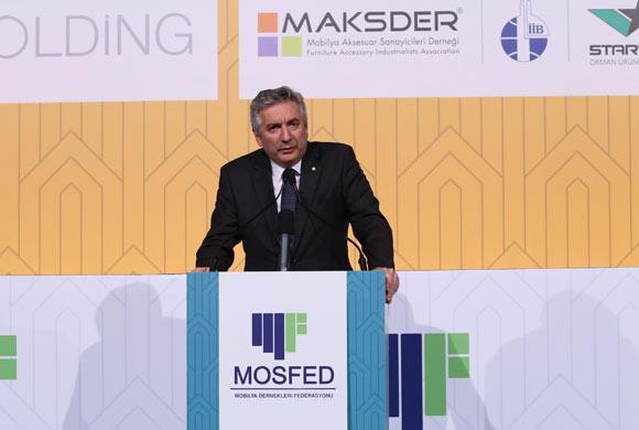 """Bahçıvan MOSFED Gecesinde Konuştu: """"Mobilya Sanayicilerinin Başarısı Sınırlarımızı Aştı"""""""