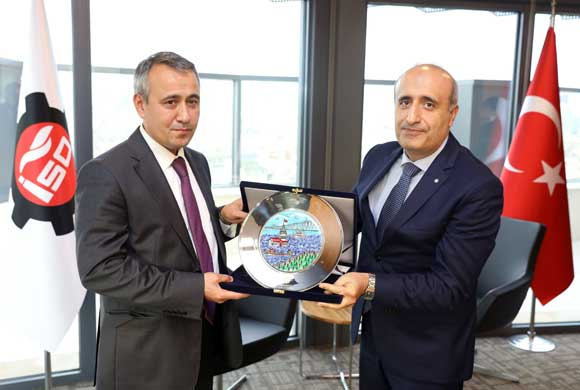 A Delegation from Uzbek Ministry of Economy Visits Istanbul Chamber of Industry