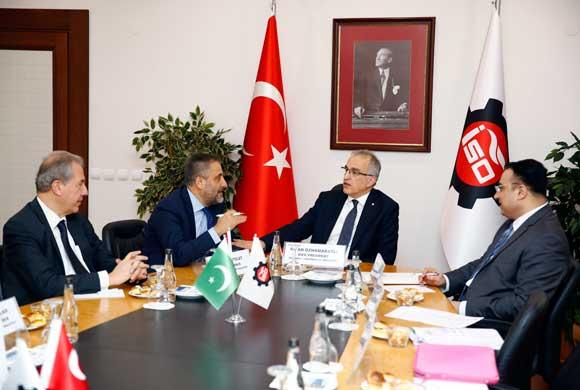 Bilal Khan Pasha, Istanbul Consul General of Pakistan Visited ICI