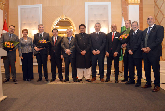 ICI Chairman Erdal Bahçıvan Attends Pakistan National Day Reception
