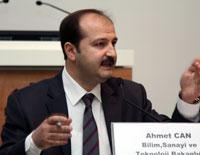 Bilim, Sanayi ve Teknoloji Bakanlığı, Sanayi Genel Müdürlüğü Daire Başkanı Ahmet Can
