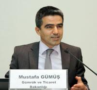Gümrük ve Ticaret Bakanlığı, Gümrükler Genel Müdür Yardımcısı Mustafa Gümüş