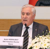 İSO Yönetim Kurulu Üyesi Nahit Kemalbay