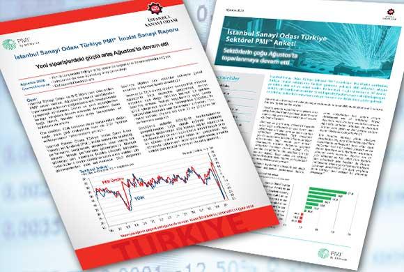 İSO Türkiye İmalat PMI Ağustos 2020 Raporu ve Türkiye Sektörel PMI Raporu Açıklandı