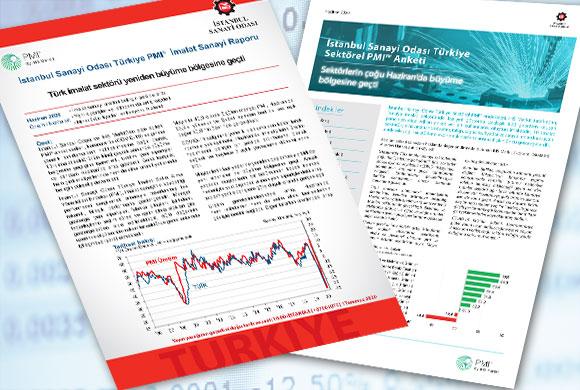 İSO Türkiye İmalat PMI Haziran 2020 Raporu ile Türkiye Sektörel PMI Raporu Açıklandı