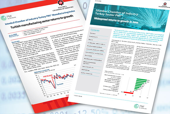 ICI Turkish Manufacturing PMI June 2020 Report and Turkish Sectoral PMI Report Were Announced