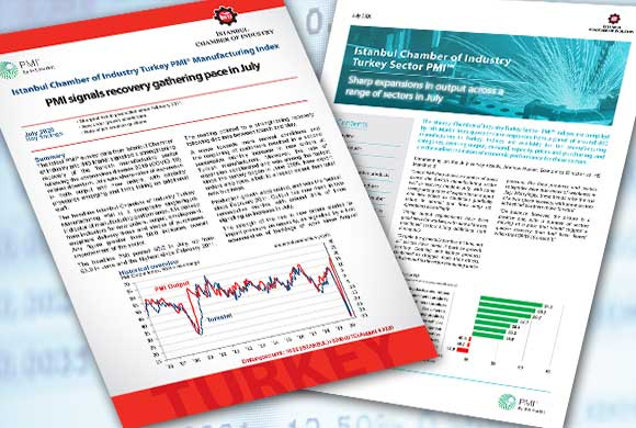 ICI Turkish Manufacturing PMI July 2020 Report and Turkish Sectoral PMI Report Were Announced