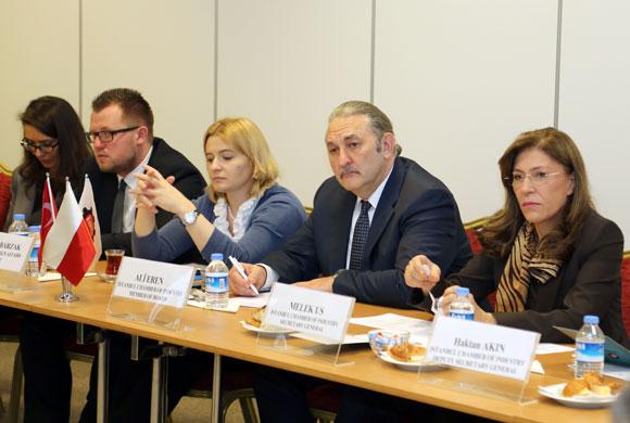 Polonyalı Sanayici ve İş İnsanları İş Birliği ve Yatırım İmkanları İçin İSO'daydı
