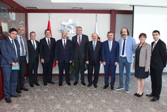 İSO Öncülüğündeki Üniversite Sanayi İşbirliği Platformu, İstişare Toplantısı Yaptı