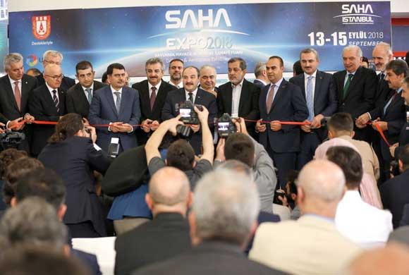 SAHA İstanbul'un İlk Kez Düzenlediği SAHA EXPO, Kapılarını Ziyaretçilere Açtı