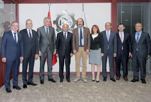 Sanayi Bakanı Fikri Işık, Sanayi ve Sanayicinin Yeni Vizyonu için İSO Yönetimi ile Bir Araya Geldi