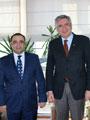 Sanayi Bakanlığı'nın Yeni İstanbul İl Müdürü Mahir Gümüş'ten, Bahçıvan'a Nezaket Ziyareti