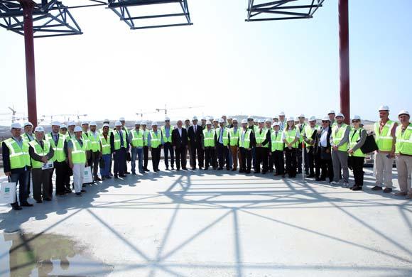 İSO Üyesi Sanayiciler Yerli Üretime Katkı İçin Dünyanın En Büyük Havalimanında